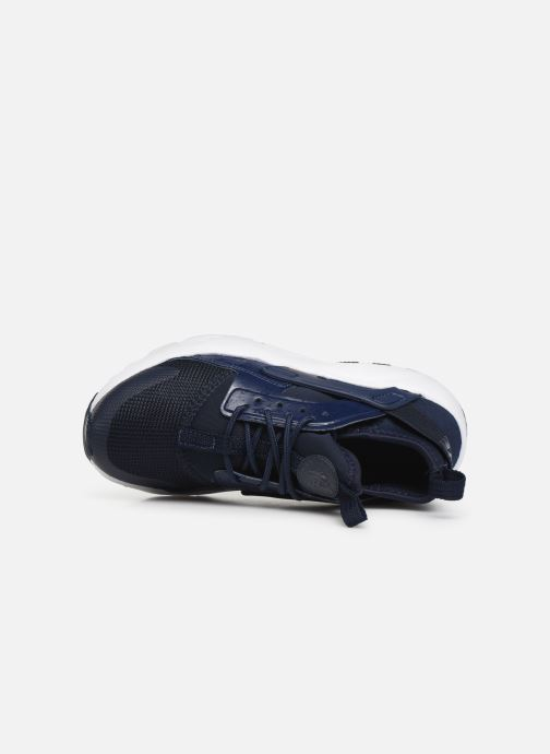 Trainers Nike Nike Huarache Run Ultra (Ps) Blue view from the left