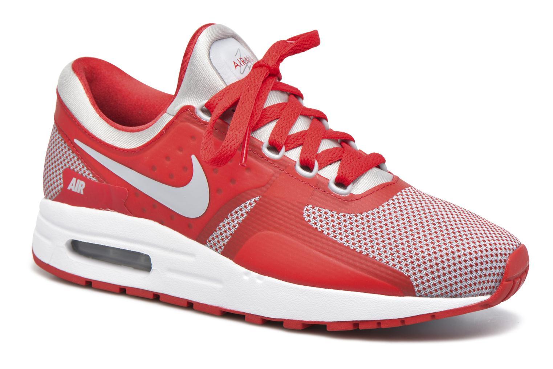 the best attitude 3bd92 cbbd2 ... Shoes Baskets Nike Nike Air Max Zero Essential (Gs) Rouge vue détail  paire ...