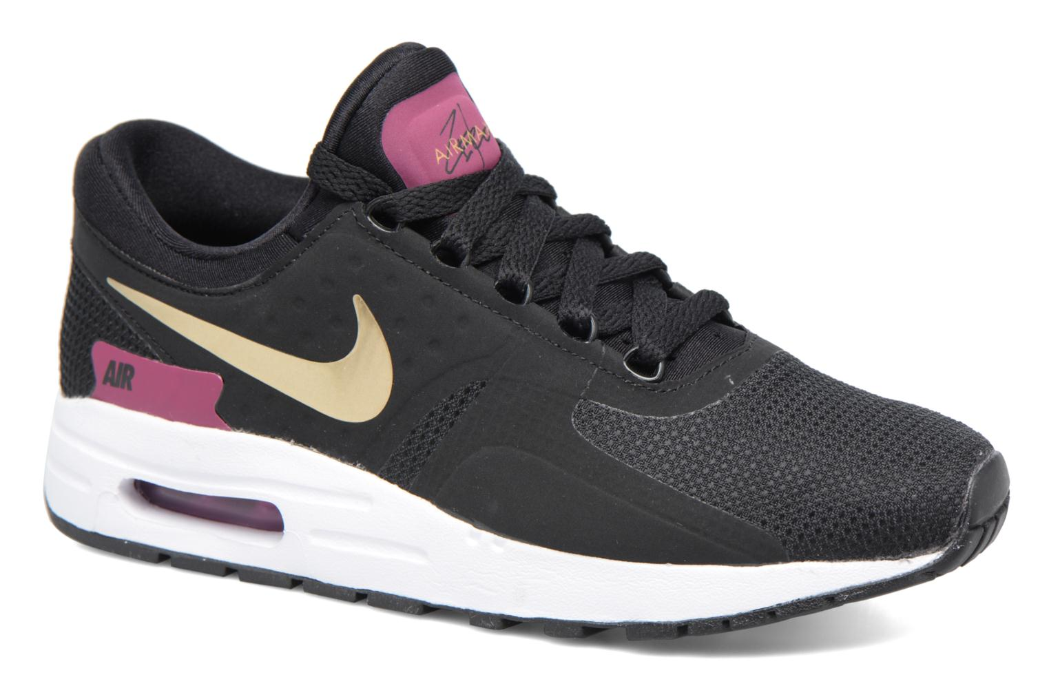 Baskets Nike Nike Air Max Zero Essential (Gs) Noir vue détail/paire