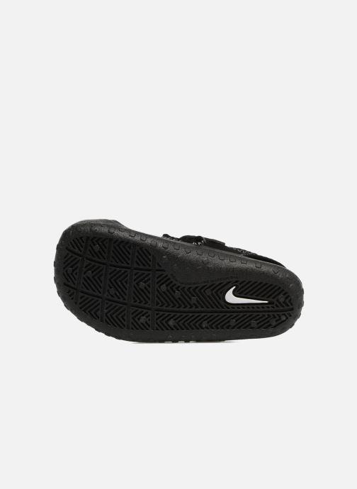 Sandales et nu-pieds Nike Nike Sunray Protect (Td) Noir vue haut