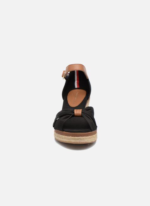 Espadrilles Tommy Hilfiger Elba 40D Noir vue portées chaussures