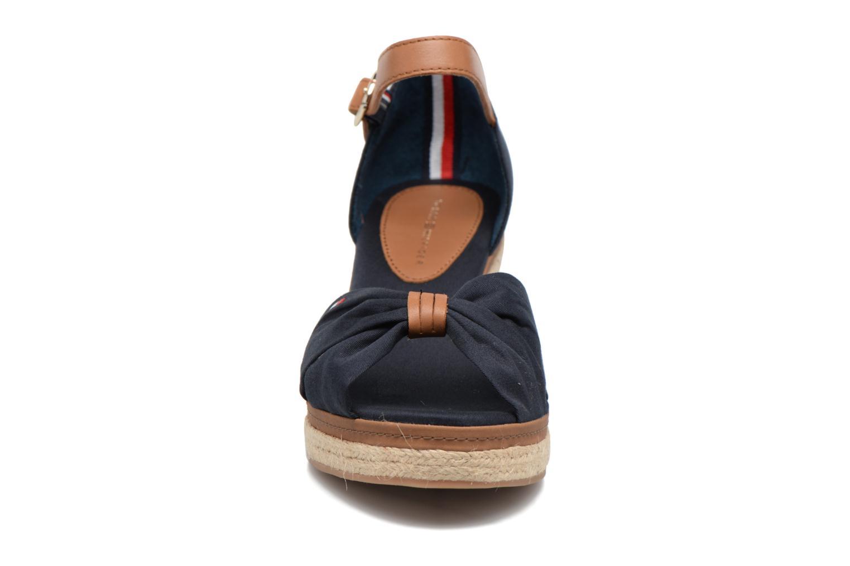 Espadrilles Tommy Hilfiger Elba 40D blau schuhe getragen