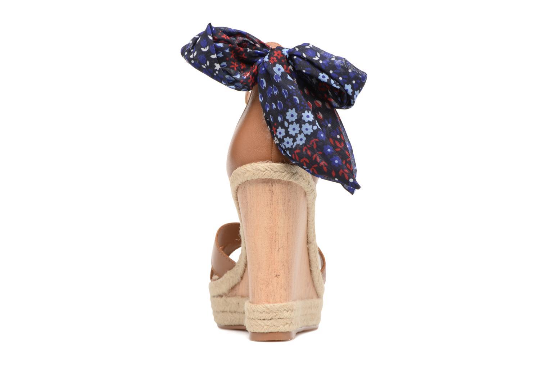 Sandales et nu-pieds Tommy Hilfiger Beatrice 9C Marron vue droite