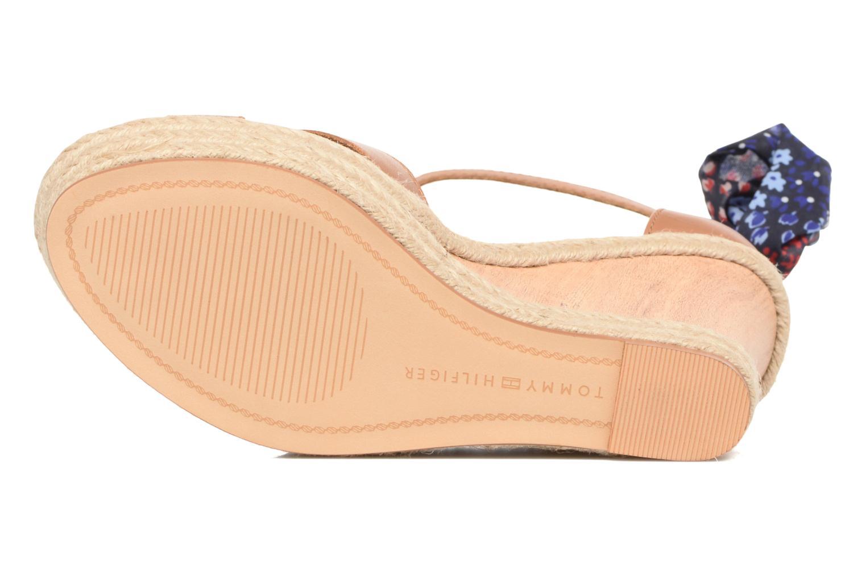 Sandales et nu-pieds Tommy Hilfiger Beatrice 9C Marron vue haut