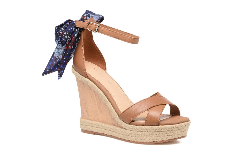 Sandales et nu-pieds Tommy Hilfiger Beatrice 9C Marron vue détail/paire