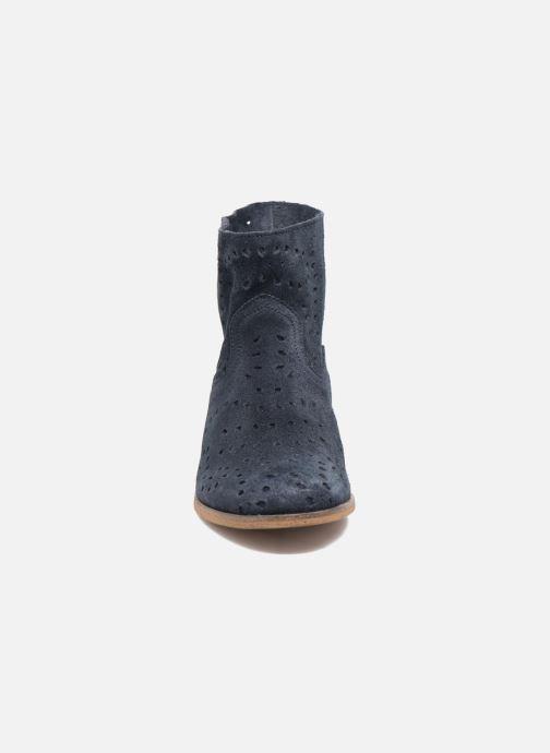 Tommy Hilfiger Genny 12B Bleu Bottines et boots chez