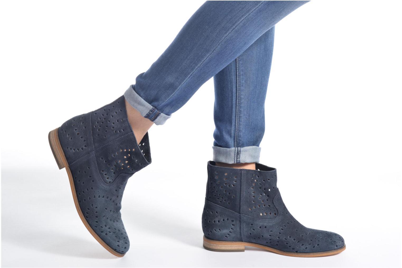 Stiefeletten & Boots Tommy Hilfiger Genny 12B blau ansicht von unten / tasche getragen