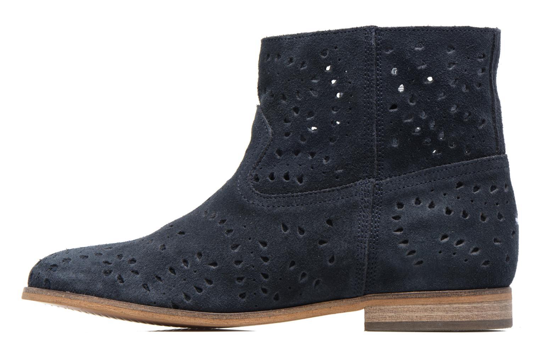 Boots en enkellaarsjes Tommy Hilfiger Genny 12B Blauw voorkant