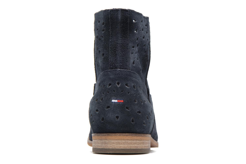 Boots en enkellaarsjes Tommy Hilfiger Genny 12B Blauw rechts