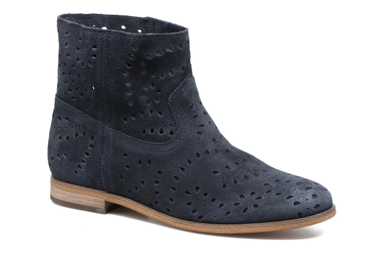 Boots en enkellaarsjes Tommy Hilfiger Genny 12B Blauw detail