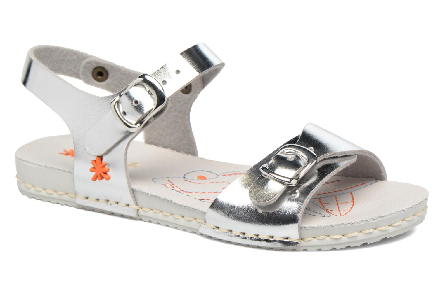 Sandals Art A271 Paddle Silver detailed view/ Pair view