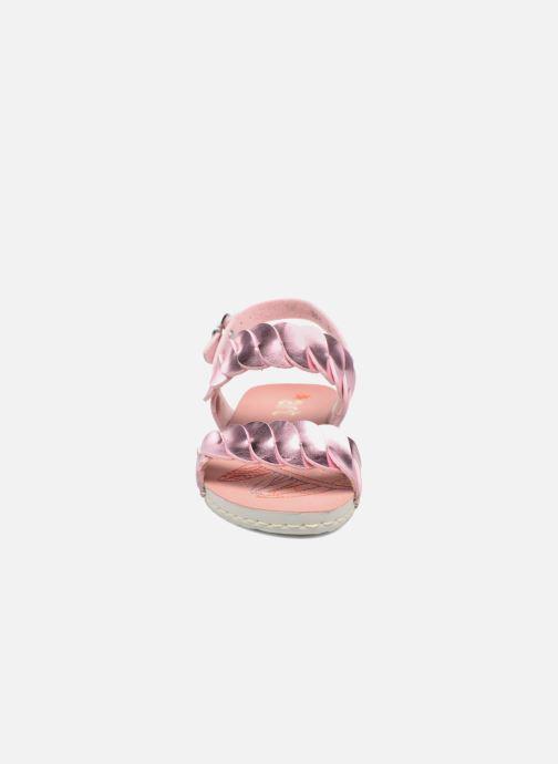 Sandalen Art A274 Paddle rosa schuhe getragen