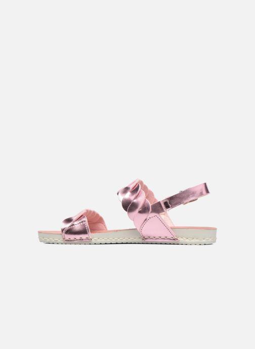 Sandalen Art A274 Paddle rosa ansicht von vorne