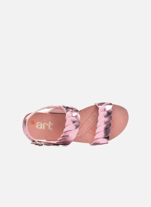 Sandales et nu-pieds Art A274 Paddle Rose vue gauche