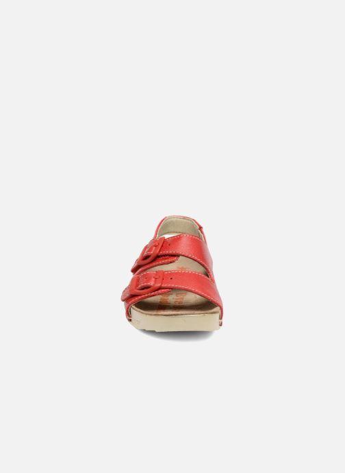 Sandalen Art A436 I Play rot schuhe getragen