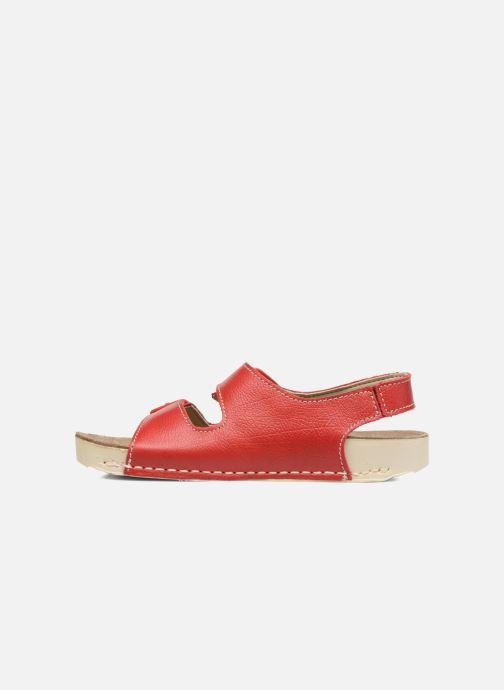 Sandalen Art A436 I Play rot ansicht von vorne