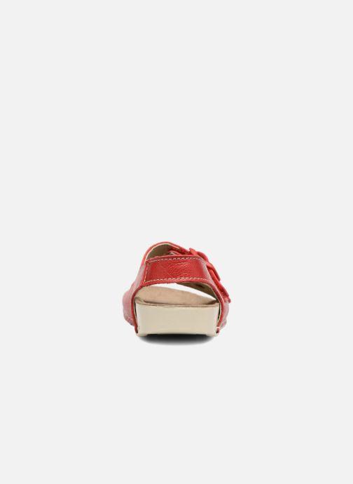 Sandalen Art A436 I Play rot ansicht von rechts