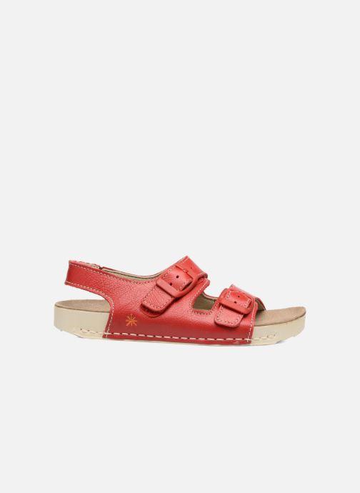 Sandalen Art A436 I Play rot ansicht von hinten