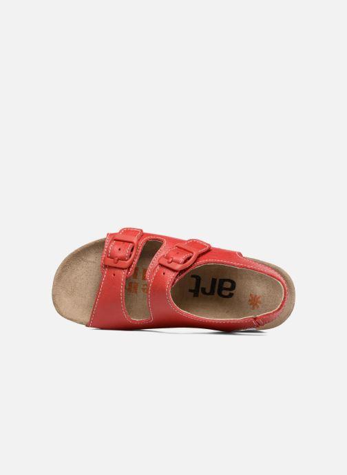 Sandales et nu-pieds Art A436 I Play Rouge vue gauche