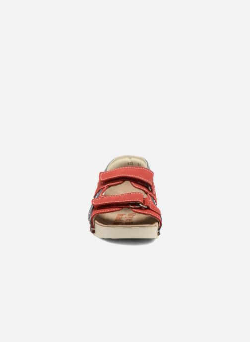 Sandalen Art 438 I Play rot schuhe getragen