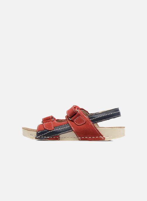 Sandales et nu-pieds Art 438 I Play Rouge vue face