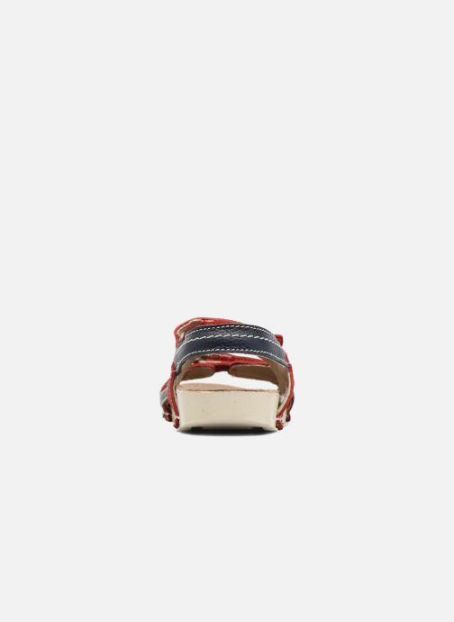 Sandalen Art 438 I Play rot ansicht von rechts