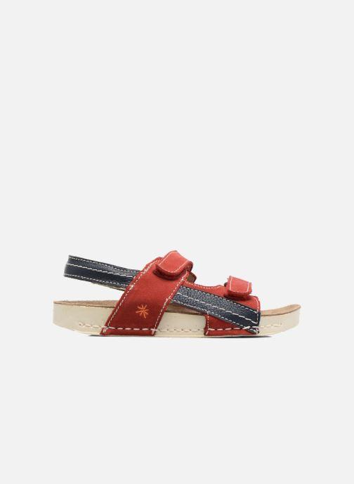 Sandalen Art 438 I Play rot ansicht von hinten