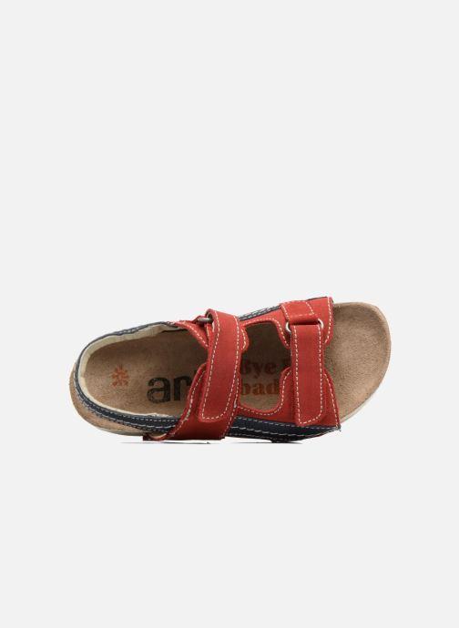 Sandalen Art 438 I Play rot ansicht von links