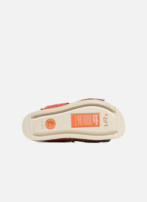 Sandalen Art 438 I Play rot ansicht von oben