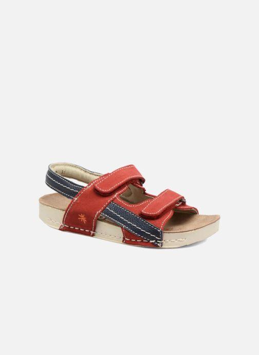 Sandales et nu-pieds Art 438 I Play Rouge vue détail/paire