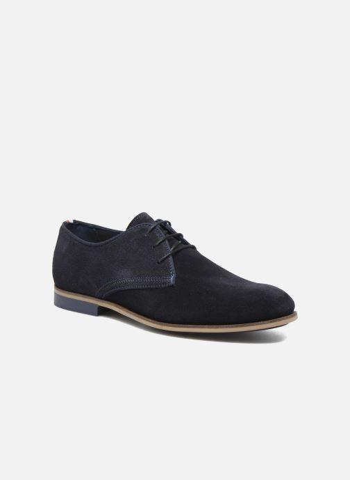Chaussures à lacets Tommy Hilfiger Campbell 2B Bleu vue détail/paire