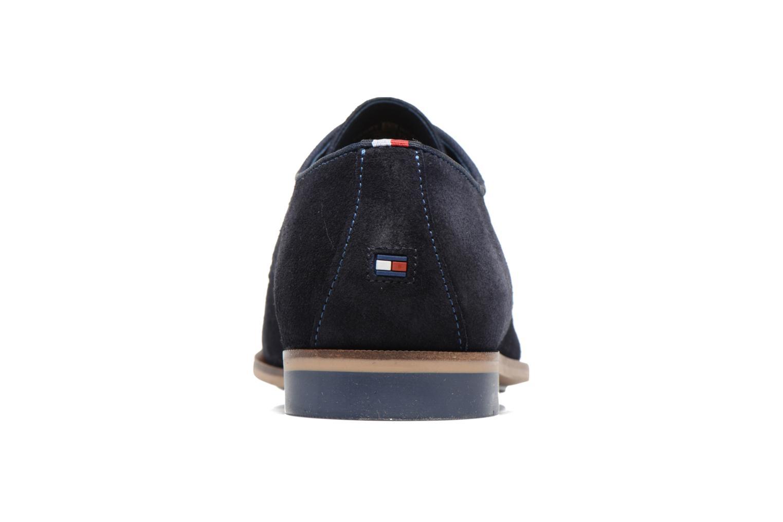Chaussures à lacets Tommy Hilfiger Campbell 2B Bleu vue droite