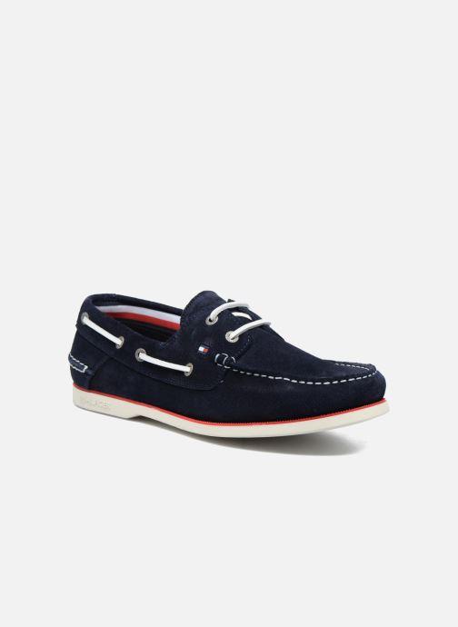 new styles 0ca1c 4aed1 Chaussures à lacets Tommy Hilfiger Knot 1B Bleu vue détail paire