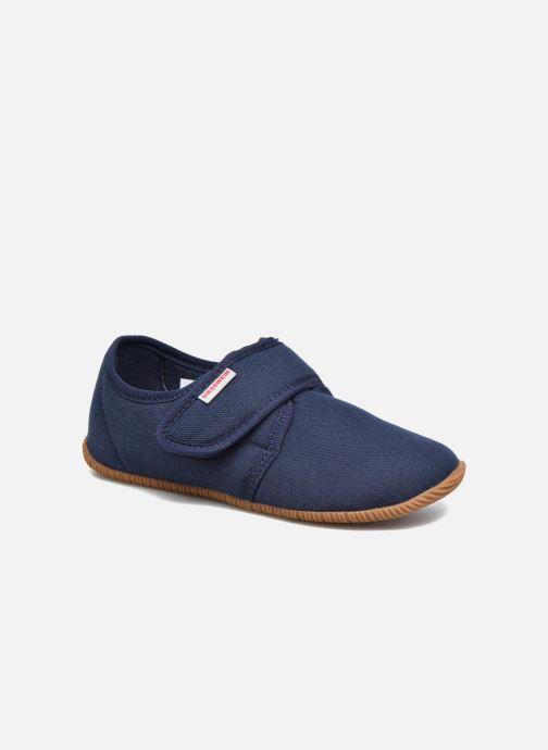 Hjemmesko Giesswein Senscheid Blå detaljeret billede af skoene