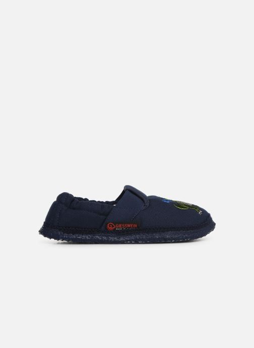 Pantofole Giesswein Altenau Azzurro immagine posteriore