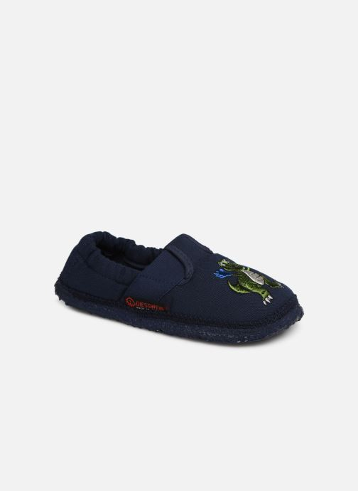 Pantofole Giesswein Altenau Azzurro vedi dettaglio/paio