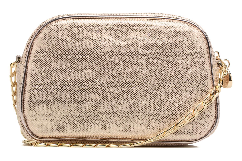 Handbags Menbur NIDELLA Bronze and Gold front view