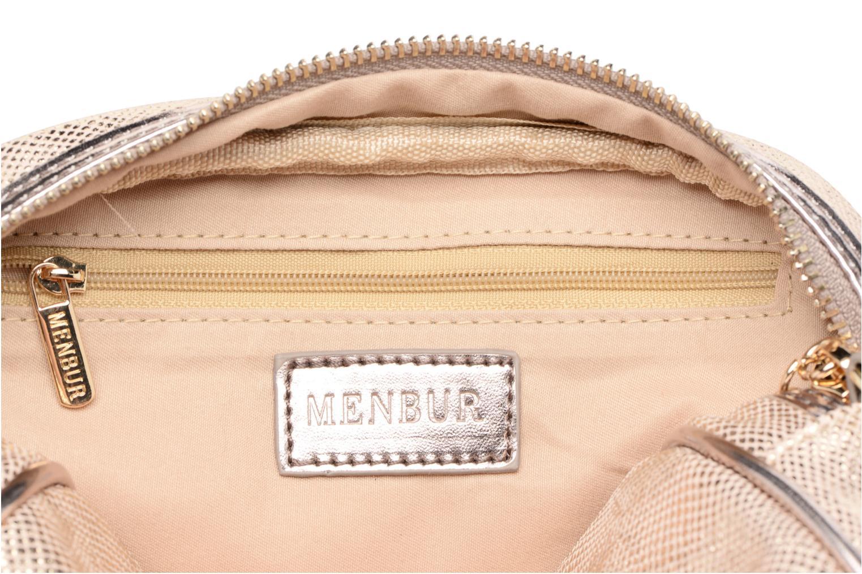 Handbags Menbur NIDELLA Bronze and Gold back view