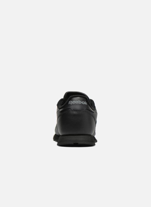 Sneaker Reebok Classic Leather schwarz ansicht von rechts