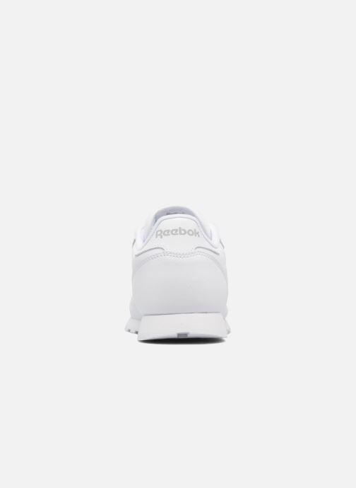 Baskets Reebok Classic Leather Blanc vue droite