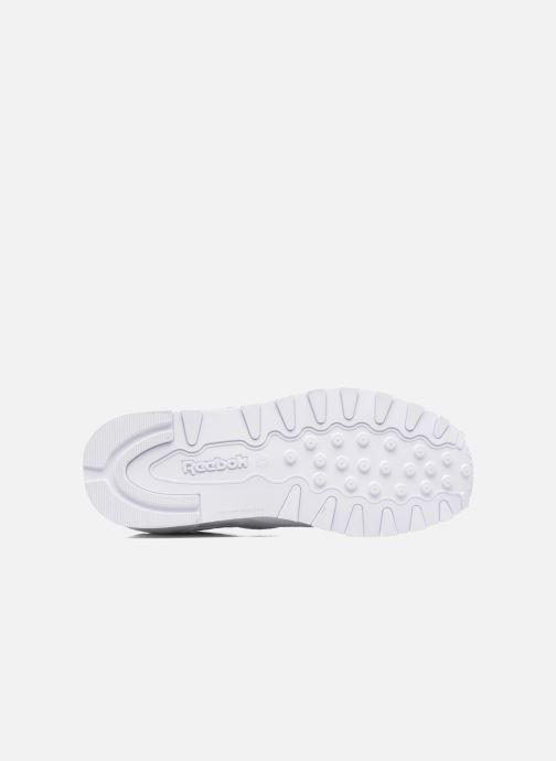 Baskets Reebok Classic Leather Blanc vue haut