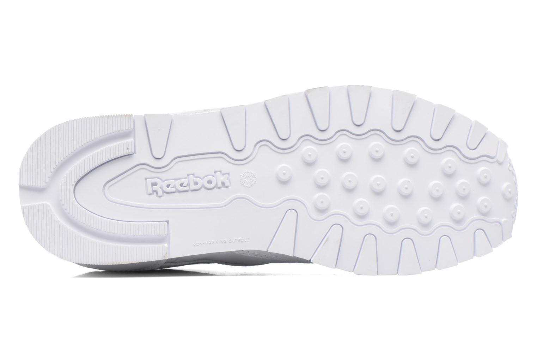 Deportivas Reebok Classic Leather Blanco vista de arriba