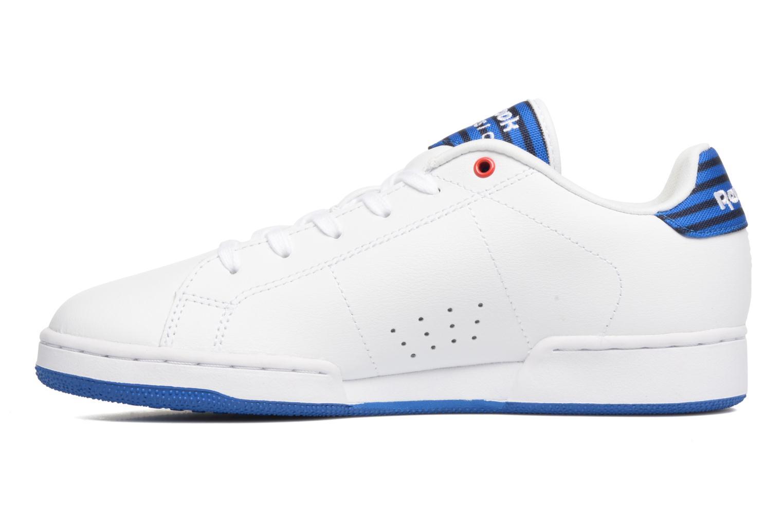 Sneaker Reebok Npc Ii Un Stripes weiß ansicht von vorne