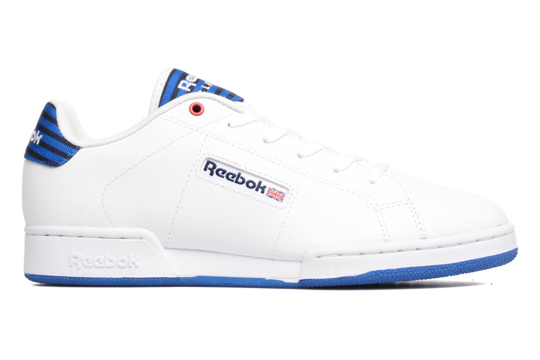 Sneaker Reebok Npc Ii Un Stripes weiß ansicht von hinten