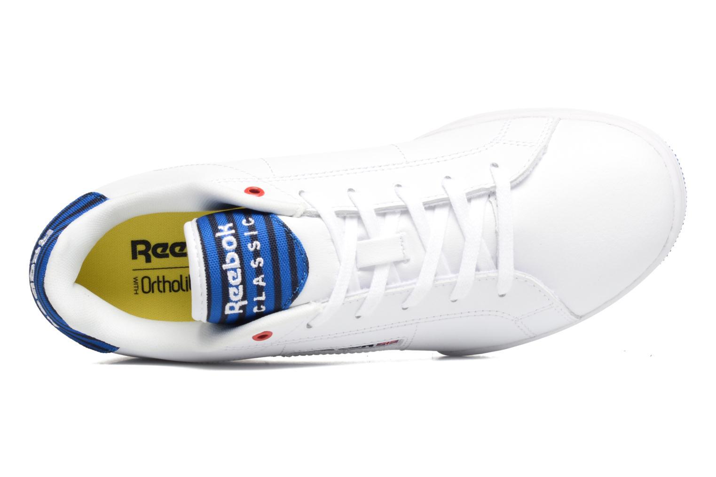 Sneaker Reebok Npc Ii Un Stripes weiß ansicht von links