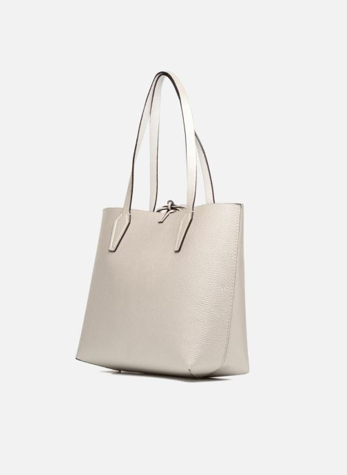 Guess Bobbi Inside Out Tote (Wit) Handtassen chez Sarenza