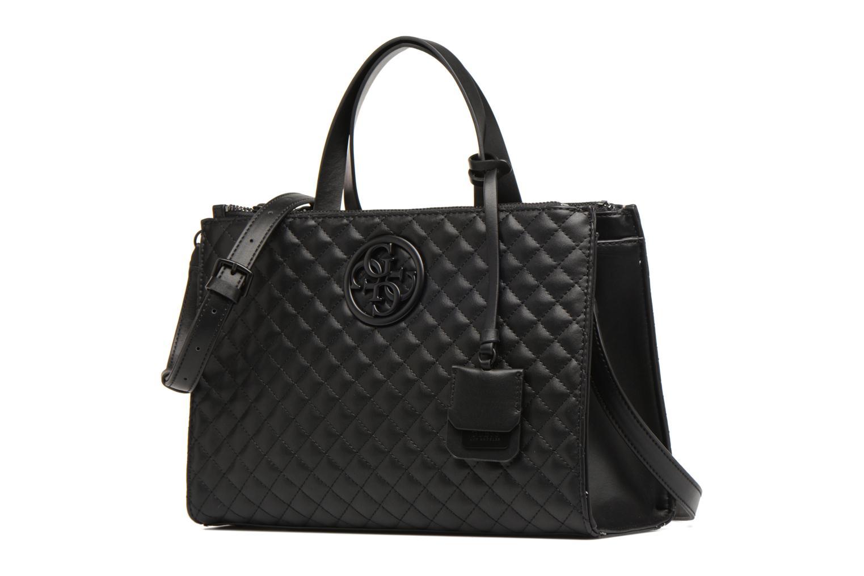 Handtaschen Guess G Lux Status Satchel schwarz schuhe getragen