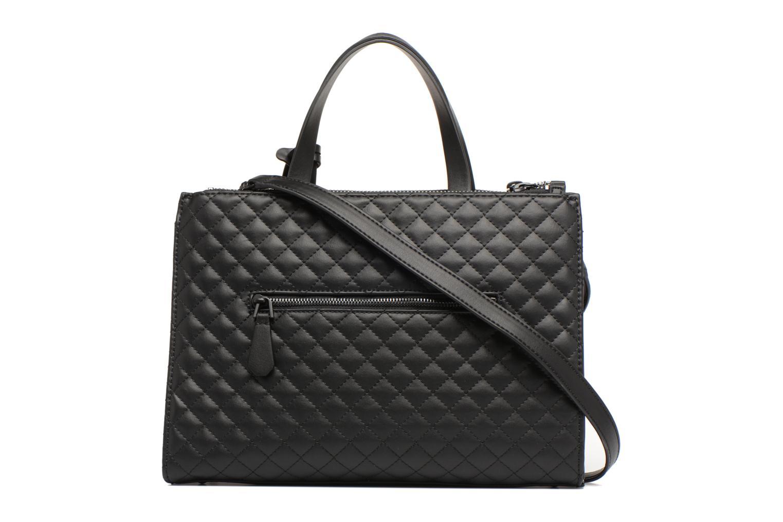 Handtaschen Guess G Lux Status Satchel schwarz ansicht von vorne
