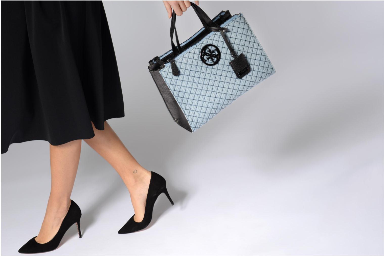 Handtaschen Guess G Lux Status Satchel schwarz ansicht von oben