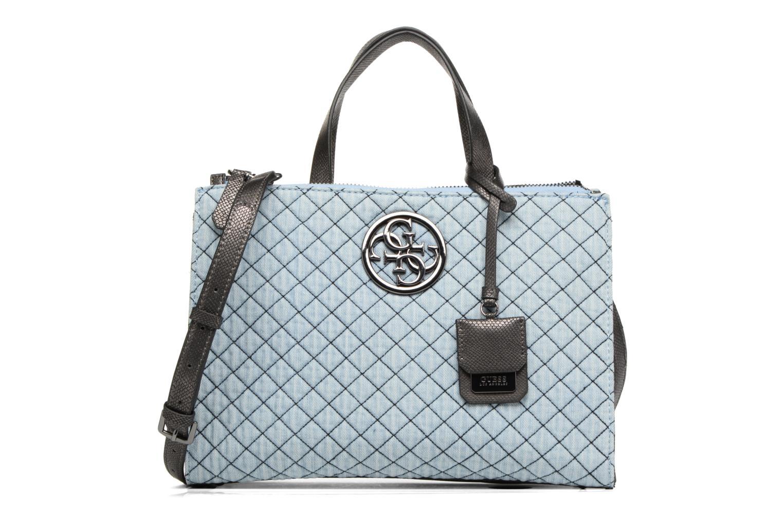Handtaschen Guess G Lux Status Satchel blau detaillierte ansicht/modell